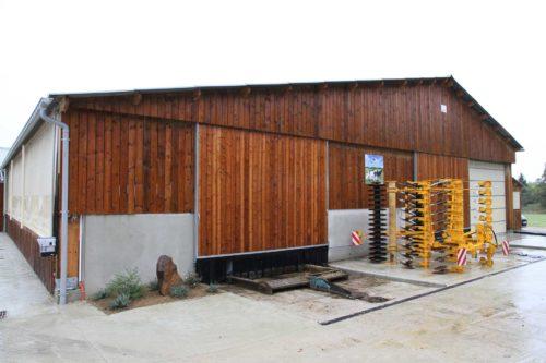 Bâtiment vaches laitières - Bardage bois