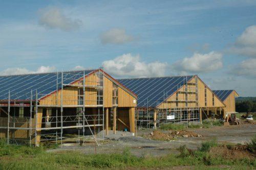 bâtiment agricole stockage panneaux photovoltaïques