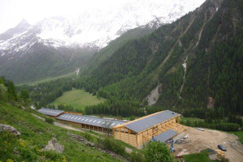 bâtiment vaches laitières montagne