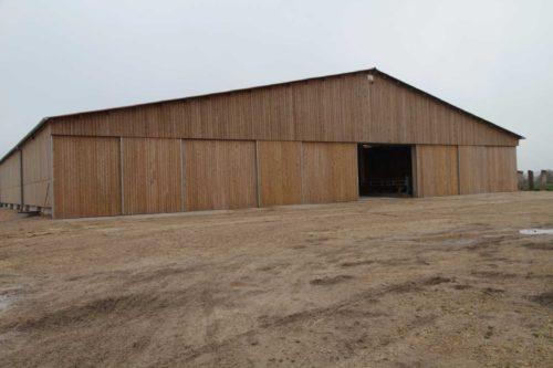 bâtiment viande charpente bois lamellé collé