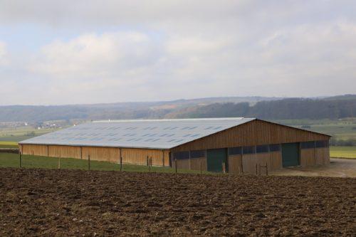 bergerie bâtiment bois lamellé collé emg