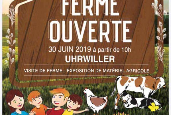 Ferme ouverte à UHRWILLER en Alsace