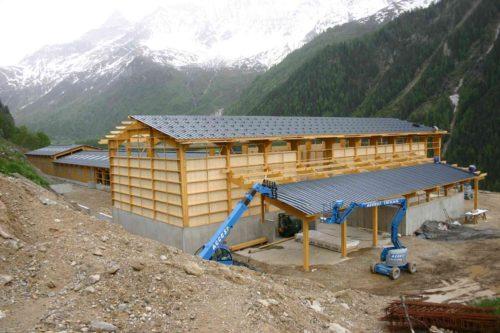 bâtiment séchage en grange gaec alpin