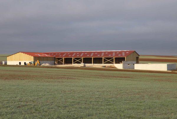 Construction stabulation 90 vaches laitières Côte d'Or (21)